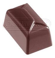 """Форма для конфет поликарбонат""""прямоугольная"""" (код 05023)"""