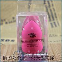 Спонж розовый в упаковке BEAUTY BLENDER для макияжа Супер качество - увеличивается в размере !!!