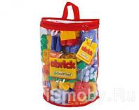 Кубики для конструирования в сумке 50 дет. Smoby Ecoiffier 7362