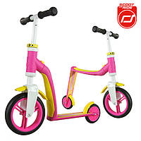 ScootandRide - Велобег Highwaybuddy 2в1, pink