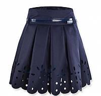 Нарядная школьная юбка с перфрацией