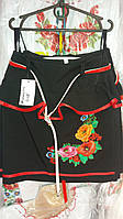 Вышитая нарядная юбка в школу