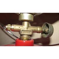 Кран для газовой горелки Турист: металл, ребристый вентиль