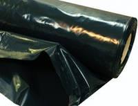 """Пленка черная""""Союз Планета Пластик"""", полиэтиленовая (для мульчи, строительная) 120 мкм,6х50м"""