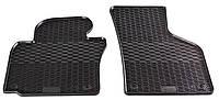 Резиновые передние коврики для Volkswagen Passat CC I 2008-2012 (STINGRAY)