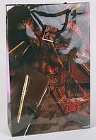 Подарочный пакет из бумаги большой вертикальный 25х39x9 DBV