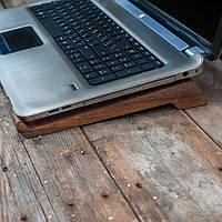 Деревянная подставка Крючки для ноутбука