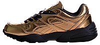 Женские кроссовки Puma Vashtie R698 (Пума) золотистые
