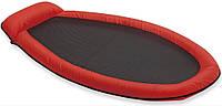 Плавательный матрас Intex 58836, надувной, 178*94 см, сетчатое дно, подголовник