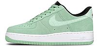 Женские кроссовки Nike Air Force (найк аир форс низкие) зеленые