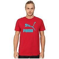 Мужская футболка с принтом Puma