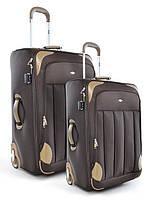 """Комплект чемоданов бизнес класса фирмы """"CCS"""" fly respect 2в1 на 2-х колесах"""