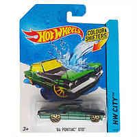 Машинка Hot Wheels Color Shifters 64 Pontiac Gto Измени цвет Mattel BHR53