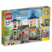 LEGO® Creator (31036) Бакалейно-игрушечный магазин