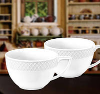 Набор из двух чайных чашек джамбо Wilmax Julia Vysotskaya WL-880109-JV, 500 мл