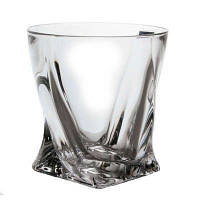 Набор стаканов для виски Bohemia Quadro 340мл (2k936/99A44/340)-6шт