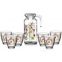 Набор для напитков (кувшин+стаканы) Pasabahce Fazenda (95972) 7пр.