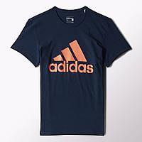 Мужская футболка с логотипом Adidas Logo S23017