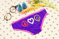 Трусики/Слипы Love Pink Victoria's Secret, фиолетовые