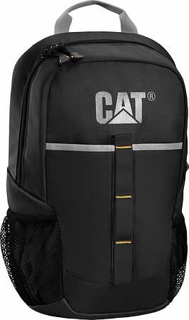Стильный городской рюкзак CAT 83128;01, черный, 11 л.