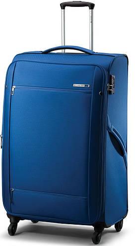 Тканевый чемодан на 4-х колесах CARLTON 072J468;03, синий, 76 л.