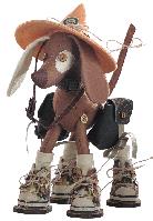 Текстильная каркасная кукла Сафари Дружок К 1043