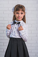 Блузка для девочки с бантиком , фото 1