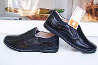 Туфли кожаные классические на мальчика ,туфли школьные  35 -- 23,5 см