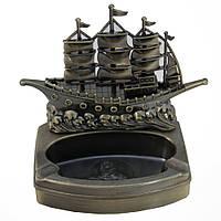 Пепельница с зажигалкой Корабль.