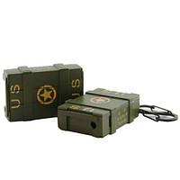Армейская зажигалка, ящик боеприпасов