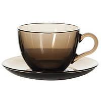 Набор для чая из цветного стекла