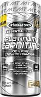L-Carnitine MuscleTech 100% Platinum Carnitine (500 mg, 180 caps)