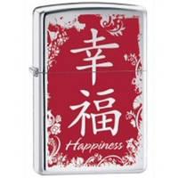Бензиновая зажигала Zippo 28067 CHINESE HAPPINESS (Китайский символ счастья).