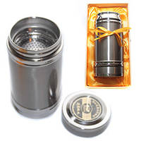 Металлический термос (450 мл) в подарочной упаковке