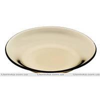 Набор тарелок из цветного стекла