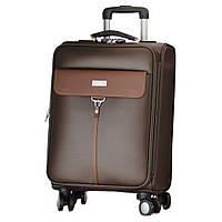 Деловой большой чемодан на колесах.