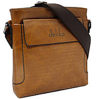 Вертикальная удобная мужская сумка.
