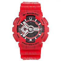 Спортивные наручные часы Casio G-SHOCK GA110SL ярко-красного цвета