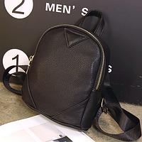 Городской мини-рюкзак черный