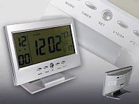 Электронные цифровые часы настольные будильник 8082