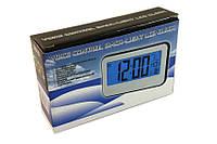 Электронные цифровые часы настольные будильник 2618