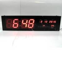 Часы электронные настенные настольные большие 4813 LED