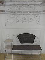 Кованый набор мебели в прихожую  -  034