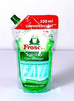 Средство для мытья окон Frosch Spiritus Glasreiniger Nachfüllpackung (Запаска) 500мл