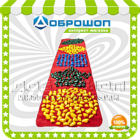 Массажный коврик с цветными камнями детский развивающий 200х40 см
