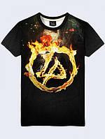 Футболка Linkin Park Fire