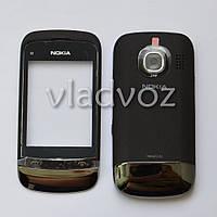 Корпус Nokia c2 03, c2 06 черный + клавиатура class AAA