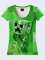 Футболка Creeper Minecraft