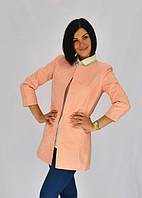 Женский яркий удлиненный пиджак