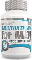 Мультивитамины BioTech Multivitamin for Men, 60 табл.